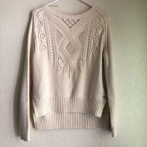Roxy knit sweater xs